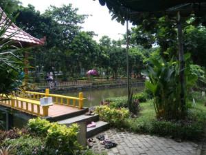 Taman Abhirama Alternatif Play Ground Sidoarjo Bedroom Kolam Ikan Kab