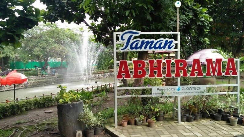 Taman Abhirama Oase Tengah Panasnya Kota Sidoarjo Catatan Kab
