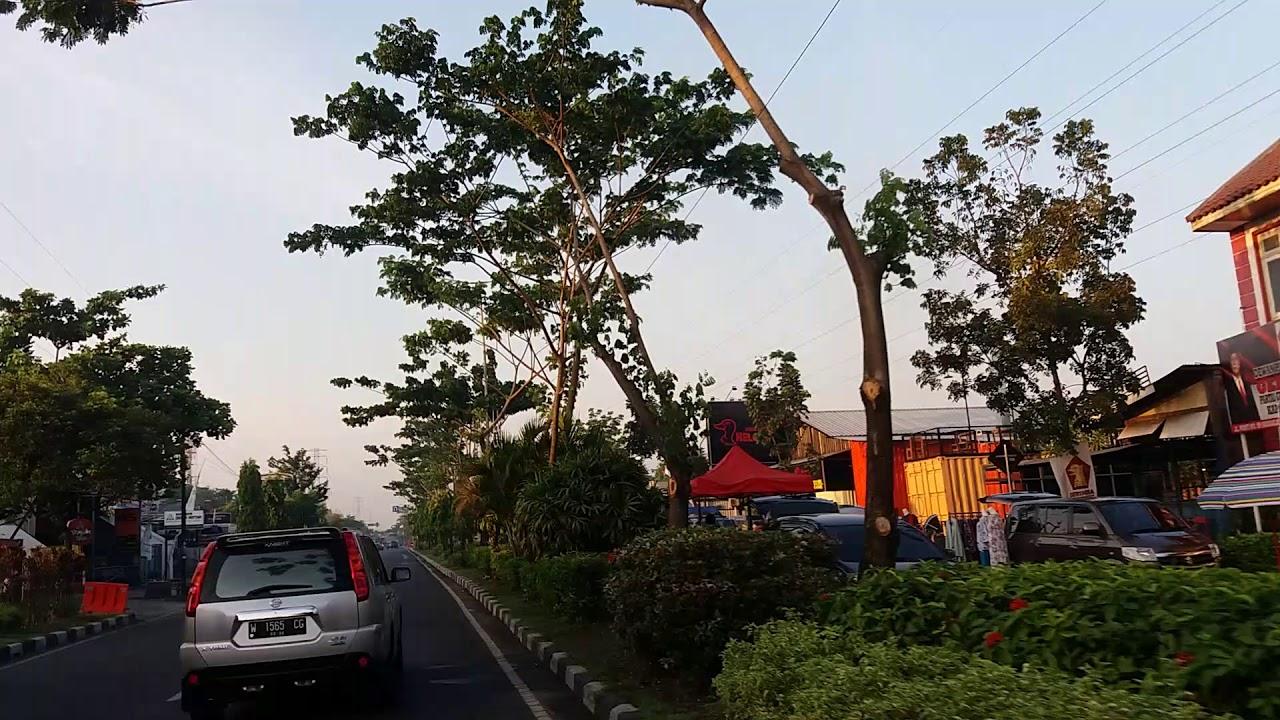 Taman Abhirama Pasar Kaget Sidoarjo Youtube Kab