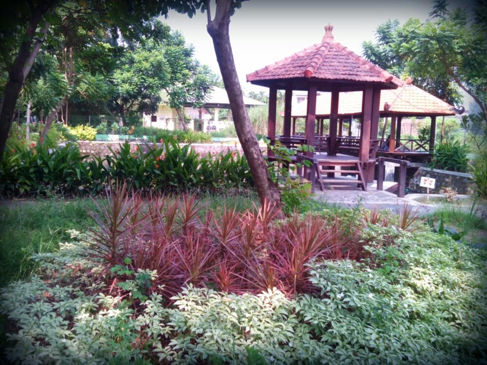Taman Abhirama Sidoarjo Sinichinet Tempat Rekreasi Kota Paru Berlibur Surabaya