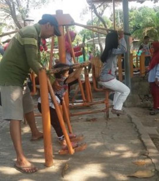Taman Abhirawa Tempat Jujugan Warga Melepas Penat Dprd Kabupaten Sidoarjo