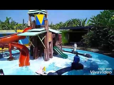 Mandi Busa Ketegan Jungle Water Park Youtube Taman Air Permata