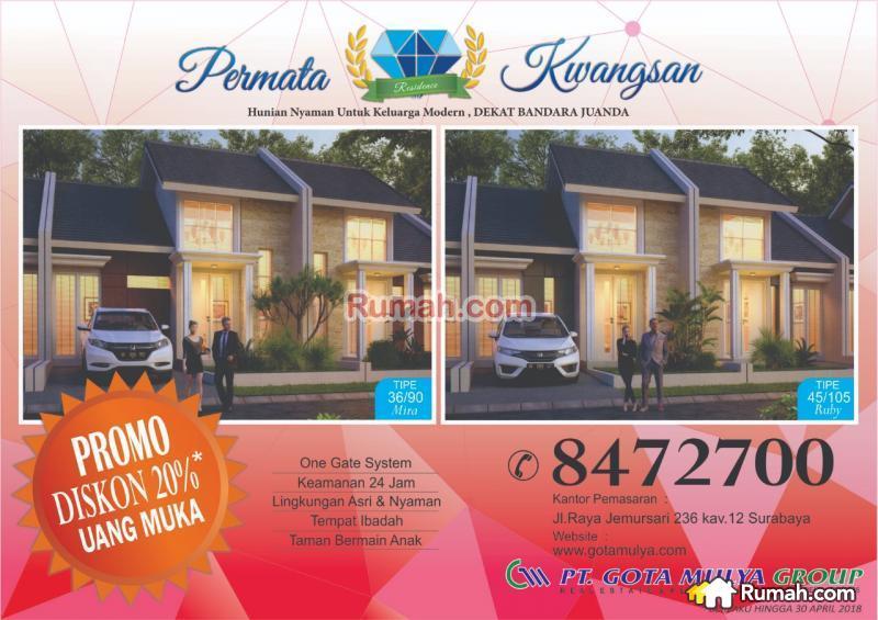 Permata Kwangsan Residence Desa Sedati Sidoarjo Jawa 82543088 Taman Air