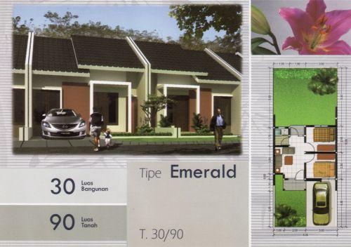 Rumah Minimalis Dua Permata Id 7153 Taman Air Kab Sidoarjo