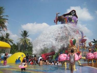 Inilah Kolam Renang Terbesar Indonesia Waterpark Ciputra Bali Permainan Air
