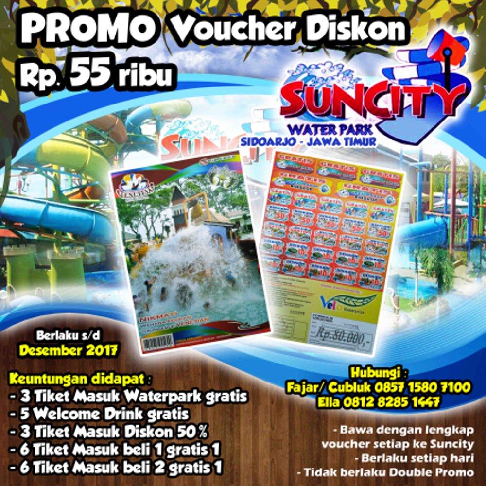 Jual Voucher Diskon Tiket Masuk Suncity Sidoarjo Jawa Timur Termurah