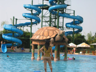 Kidung Cinta Andjani Angel Heaven Waterpark Sun City Sidoarjo Taman