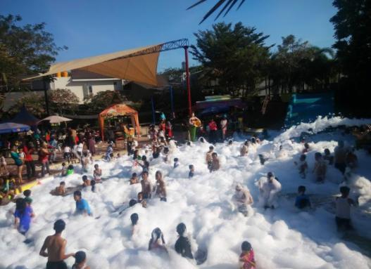 Kumpulan Tempat Wisata Sidoarjo Disidoarjo Air Citra Garden Waterpark Taman