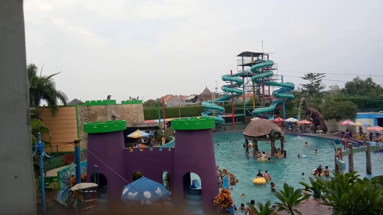 Suasana Kolam Renang Suncity Mall Sidoarjo Youtube Taman Air Kab