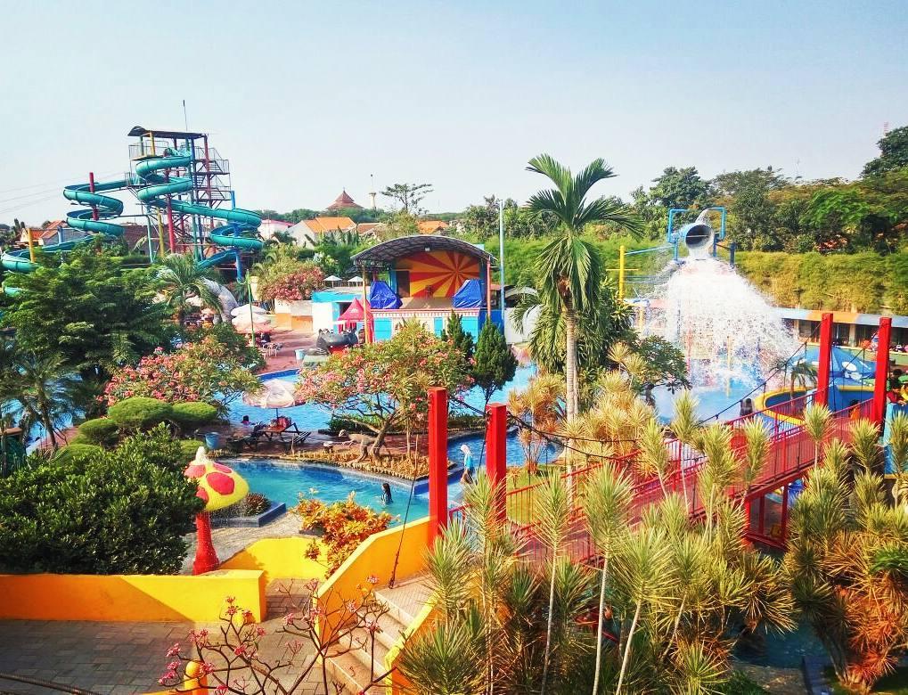 Tempat Wisata Sidoarjo Hits 2018 Suncity Waterpark Taman Air Kab