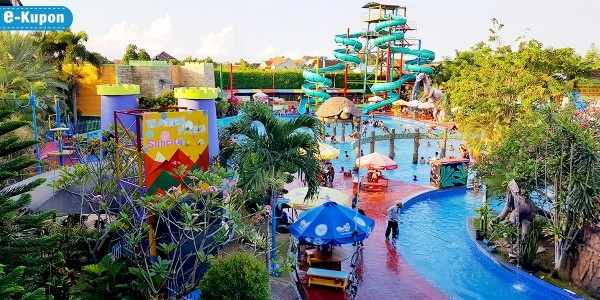 Tiket Masuk Suncity Waterpark Sidoarjo Diskon 31 Taman Air Kab
