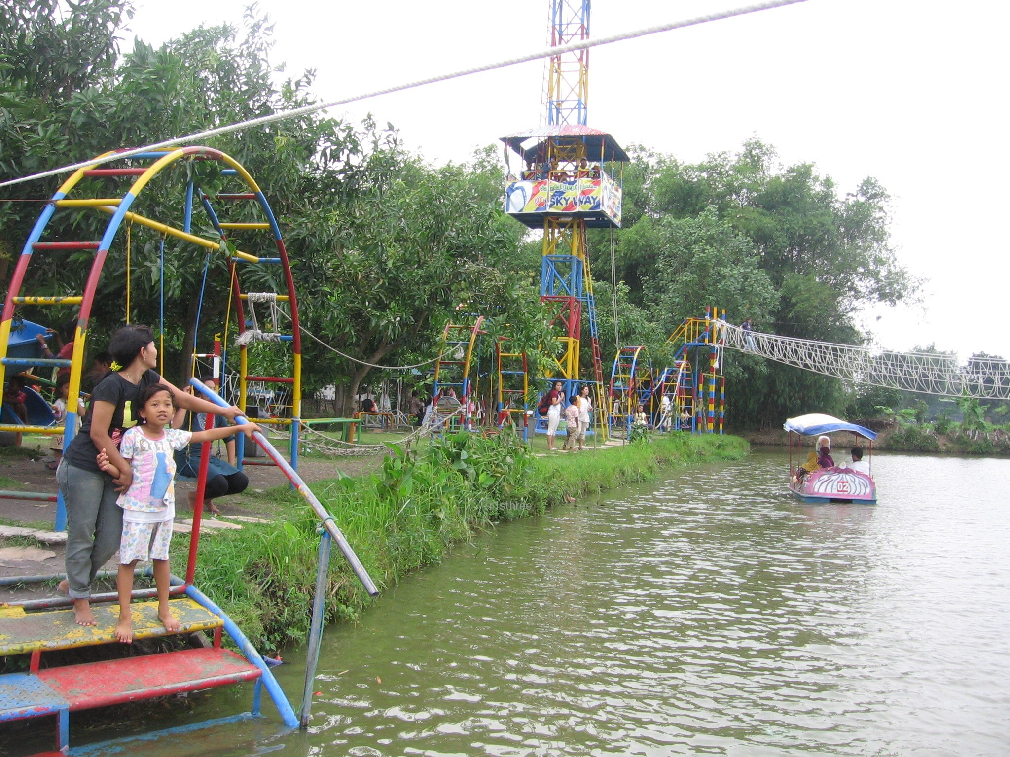 Delta Fishing Sidoarjo Jawa Timur Tempat Wisata Harga Pulau Pemancingan