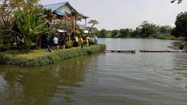 Info Kolam Pancing Surabaya Sekitarnya Gomancing Sidoarjo Monstero Tempat Pemancingan