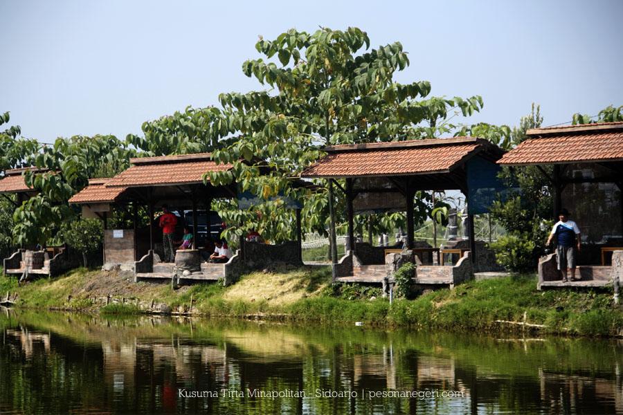 Kusuma Tirta Minapolitan Wisata Ujung Timur Sidoarjo Pesona Negeri Gazebo