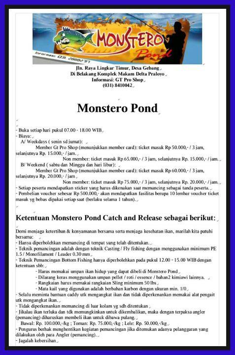 Pemancingan Monstero Pond Indopancing Wiki 01 Jpg Tempat Delta Kab