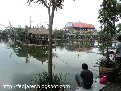 Sarana Informasi Delta Fishing Sidoarjo Refreshing Mancing Kolam Ikan Terpisah