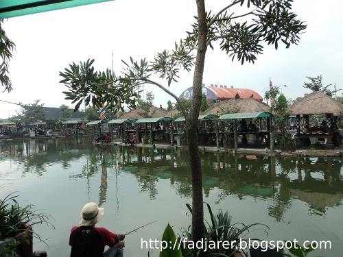 Sarana Informasi Delta Fishing Sidoarjo Refreshing Mancing Suasana Kolam Pemancingan