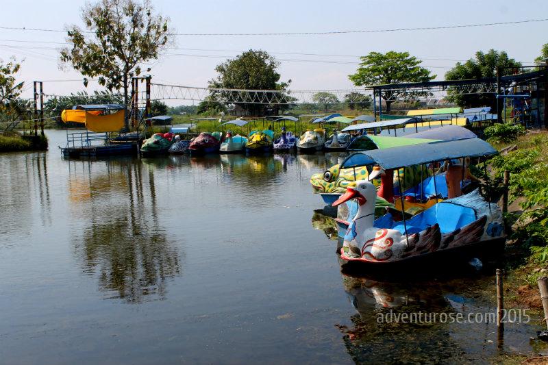 Tempat Mancing Wisata Keluarga Memancing Delta Fishing Berada Desa Prasung