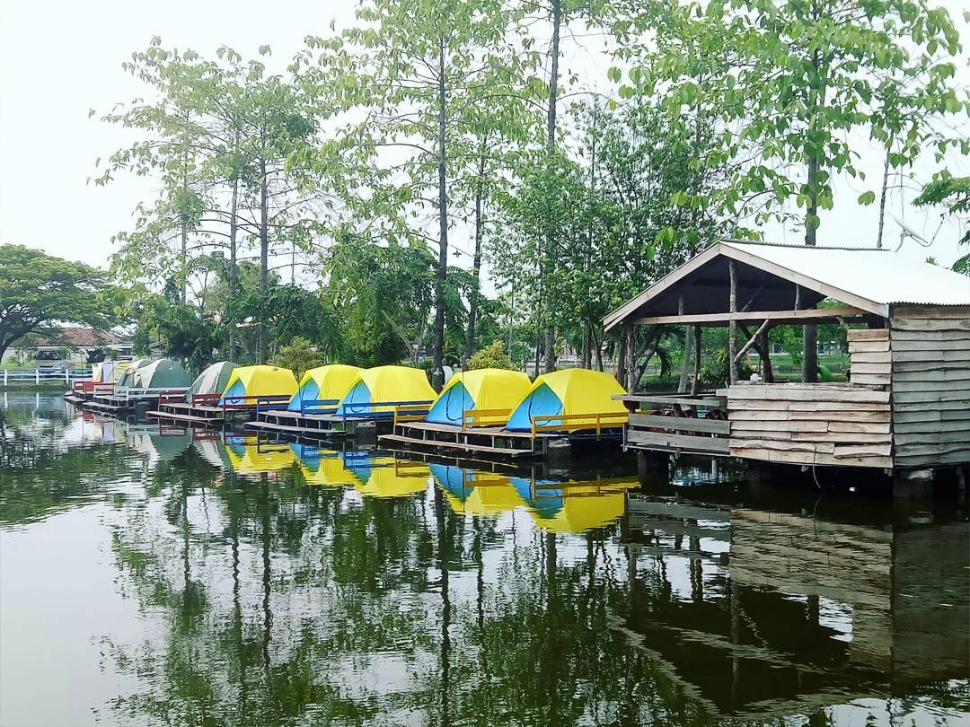 Tiket Masuk Kusuma Tirta Sidoarjo Jatim Adventure Fishing Lokasi Wisata