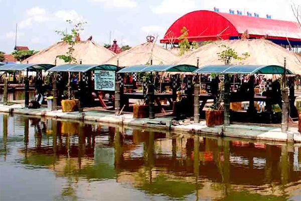 Wisata Delta Fishing Sidoarjo Ws Pamungkas Tempat Pemancingan Kab