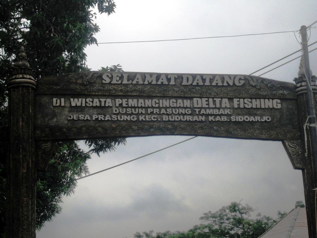 Wiyak Bumi Langit Mancing Prasung Delta Fishing Sidoarjo Papan Penunjuk