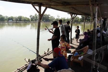 Wsiata Kolam Pemancingan Sedati Sidoarjo Ws Pamungkas Tempat Delta Kab