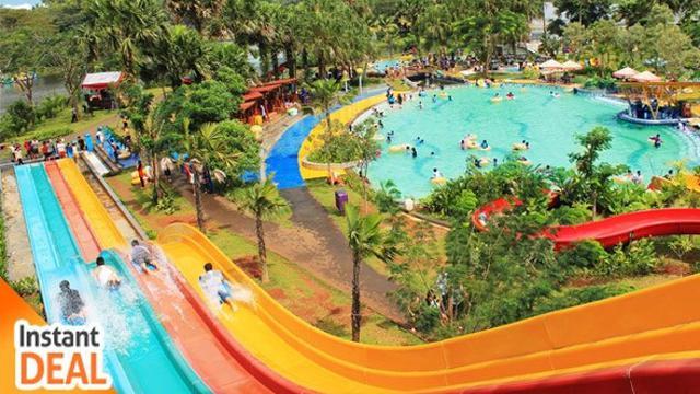 7 Wahana Air Seru Jakarta Sekitarnya Lifestyle Aladin Waterpark Wisata