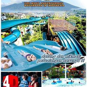 Jual Tiket Liburan Wahana Air Water Park 4 Dimensi Jungle