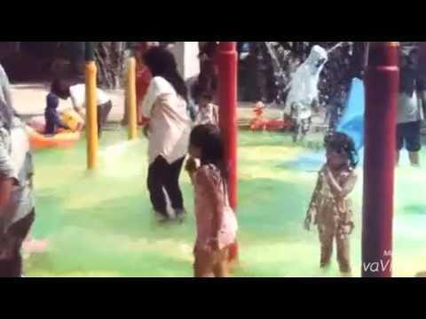 Permata Waterpark Tanggulangin Sidoarjo Youtube Wisata Air Jungle Kab