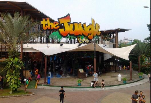 Pesona Keindahan Wisata Jungle Water Adventure Mulyaharja Bogor Jawa Barat
