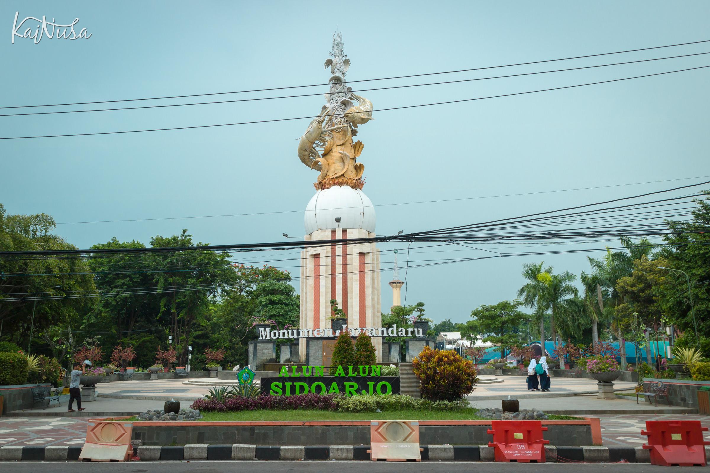 Kampoeng Batik Jetis Jurnal Kainusa Alun Kota Sidoarjo Wisata Kab