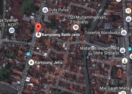 Pesona Keindahan Wisata Kampung Batik Jetis Sidoarjo Daftar Demikianlah Sedikit