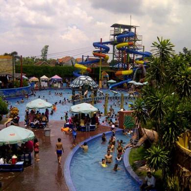 Tentang Kota Sidoarjo Sun City Waterpark Taman Bermain Air Berdiri