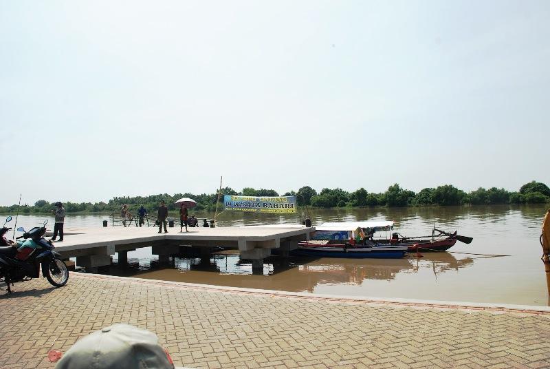 Wisata Bahari Tlocor Pulau Sarinah Sidoarjo Ws Pamungkas Lumpur Lapindo