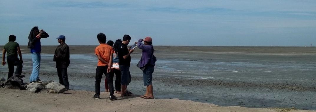Wisata Lumpur Lapindo Sidoarjo Jawa Timur Wongcrewchild Tempat Sebuah Ironi