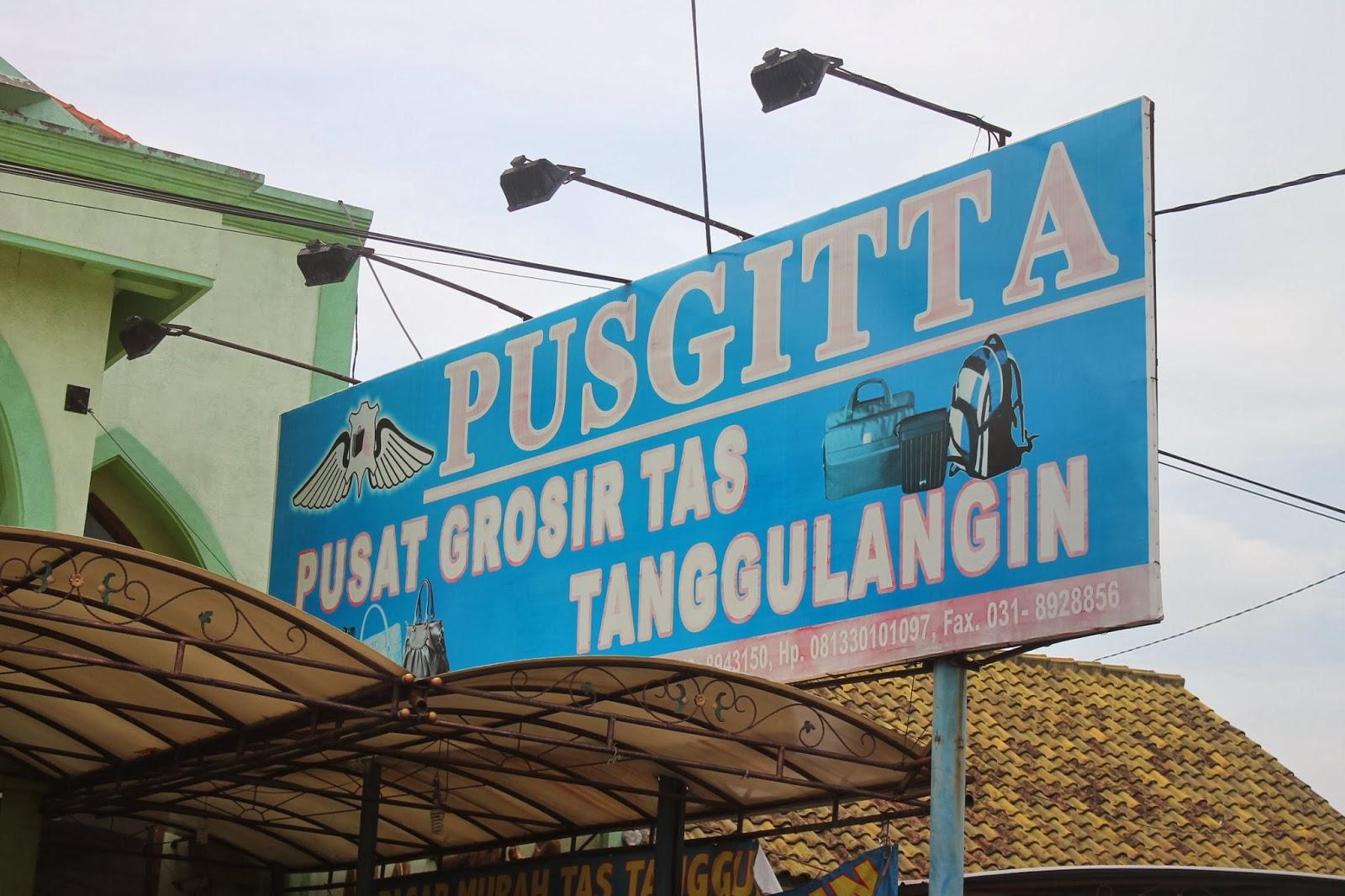 Pusgita Desa Kludan Kecamatan Tanggulangin Sidoarjo Sentra Industry Tas Kulit
