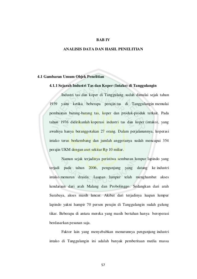 Sejarah Intako 57 Bab Iv Analisis Data Hasil Penelitian 4