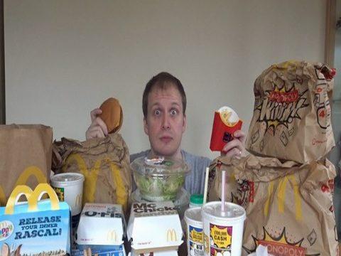 Wisata Situbondo Man Eats Mcdonald Days Loses Weight Industri Genteng
