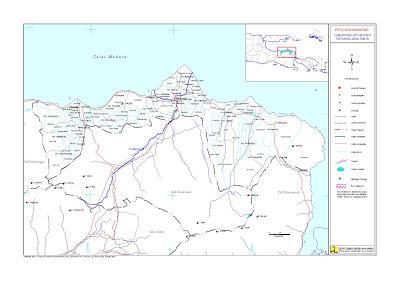 Arek Situbondo Peta Kabupaten 17 Kecamatan Nama Desanya Wisata Alun