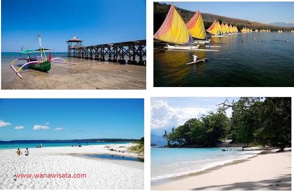 Marfologi Pantai Pasir Putih Situbondo Jawa Timur Wana Wisata Alun