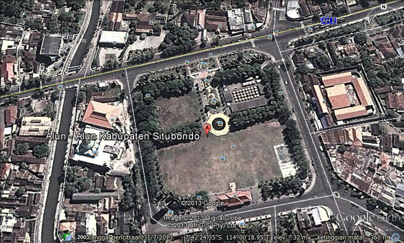 Taman Kota Alun Situbondo Hening Blog Kabupaten Kecil Jawa Timur