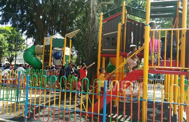 Ternyata Efek Keberadaan Playground Alun Merdeka Anak Asik Bermain Malang
