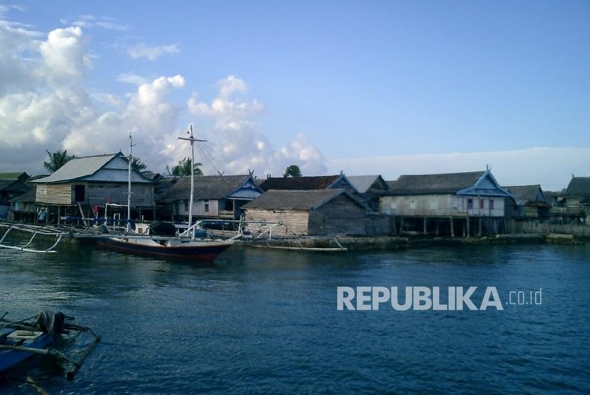 Pemkab Situbondo Luncurkan Wisata Kampung Nelayan Republika Online Rumah Apung