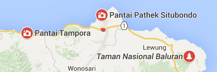 5 Wisata Pantai Populer Situbondo Pojok Image Peta Rumah Residen