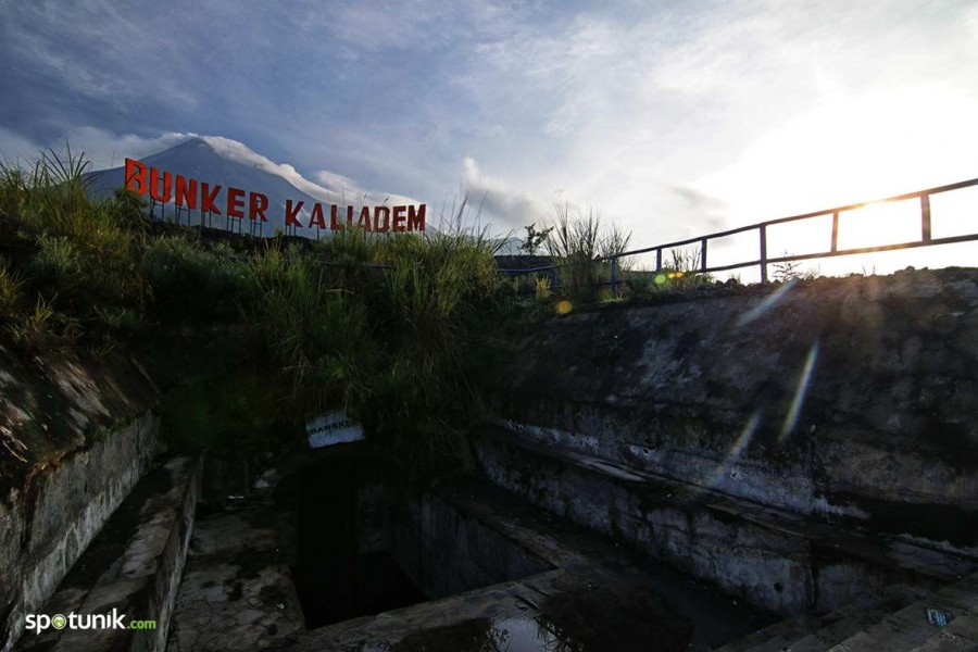 Bunker Kaliadem Merapi Wisata Kaliurang Yogyakarta Kab Sleman
