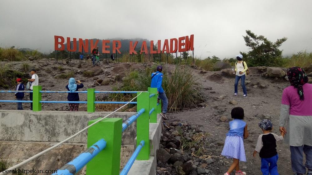 Bunker Kaliadem Saksi Bisu Keganasan Lahar Gunung Merapi Berakhir Terletak