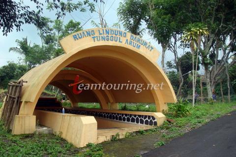 Bunker Tunggul Arum Sleman Salah Satu Lereng Selatan Bangunan Tunggu