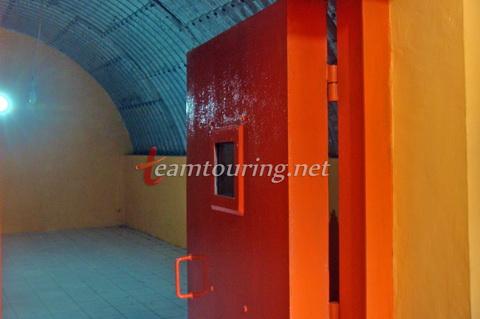 Bunker Tunggul Arum Sleman Salah Satu Lereng Selatan Ruangan Tunggu