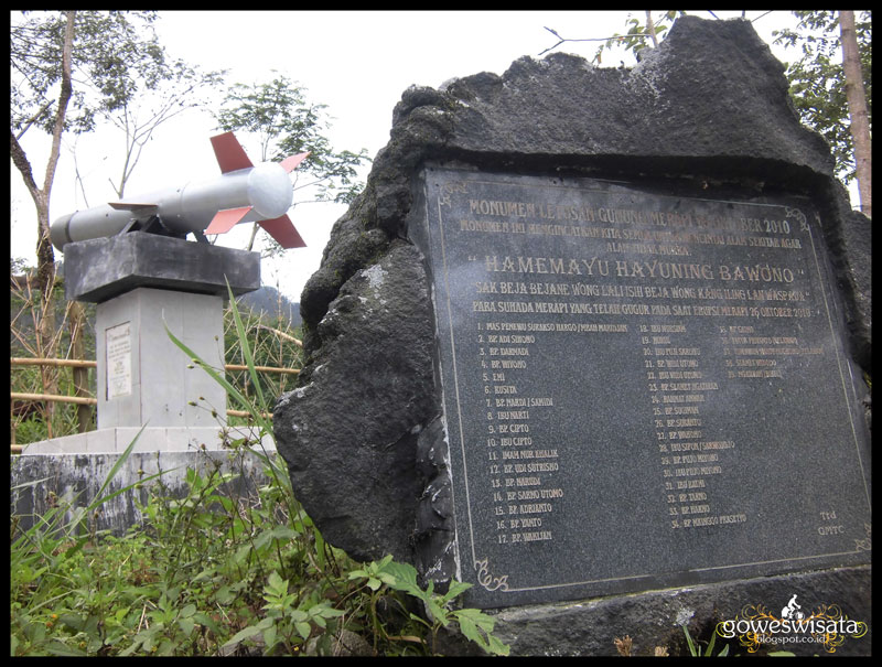 Gowes Wisata Bunker Kaliadem Kecamatan Cangkringan Kabupaten Sleman Propinsi Diy