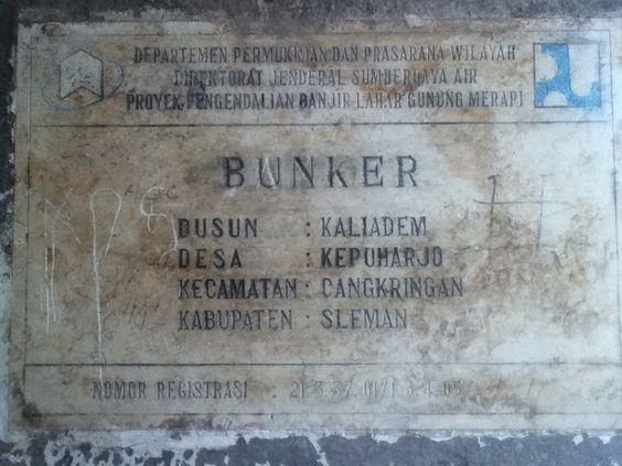 Kaliadem Trip Bunker Yogyakarta Pinterest Kab Sleman
